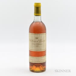 Chateau dYquem 1976, 1 bottle
