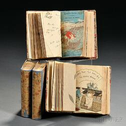 Japanese Fairy Tales, Four Bound Volumes.