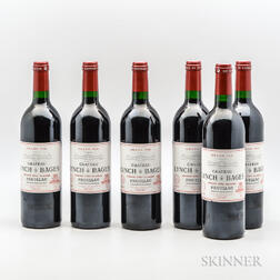 Chateau Lynch Bages 2000, 6 bottles