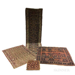 Four Northwest Persian Rugs