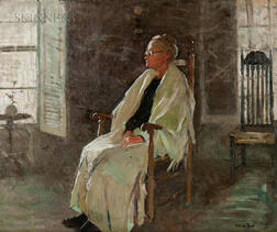 Gertrude Fiske (American, 1879-1961)      The Old Lady