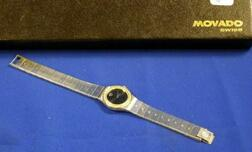 Woman's Movado Stainless Steel Wristwatch