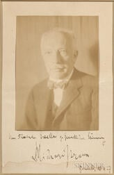 Strauss, Richard (1864-1949) Inscribed and Signed Photograph.