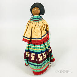 Seminole Palm Fiber Doll