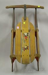 Mickey Mouse Sled by S. L. Allen Inc.