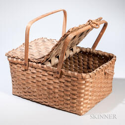 Double-handled Splint Basket