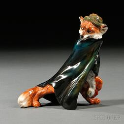 Royal Doulton Character Fox with Stolen Goose