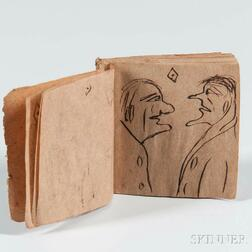 Miniature Sketchbook, 1854.