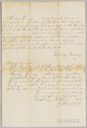 Tennessee Amnesty Oath for Henry Young