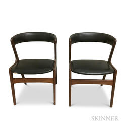 Two Kai Kristiansen Bow-back Chairs