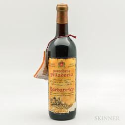 Marchesi di Villadoria Barbaresco Riserva Speciale 1962, 1 bottle