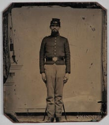 Tintype Depicting a Union Soldier