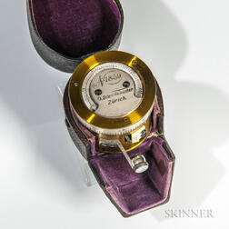 Goldschid-form Pocket Barometer