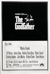 1972 The Godfather Part I   Movie Poster