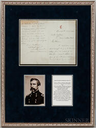 Joshua Chamberlain-signed Document