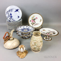 Twenty-eight Royal Worcester Ceramic Items