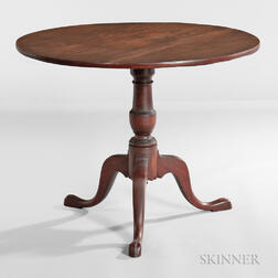 Birch Tilt-top Tea Table