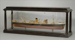 Half-Hull Boardroom Model of the Screw Steamer Dubrovnik