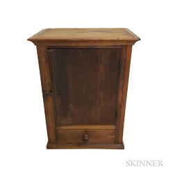 Country Pine One-drawer Floor Cupboard