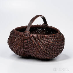 Red-painted Buttocks Basket