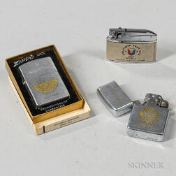 Three Military Lighters
