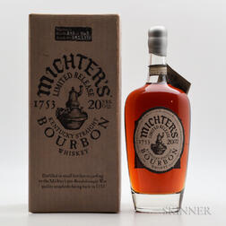 Michter's 20 Years Old, 1 750ml bottle (oc)