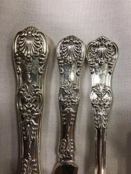 "Tiffany & Co. ""English King"" Pattern Sterling Silver Flatware Service"