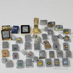 Approximately Thirty-seven Air Force-related Lighters