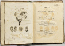 Davy, Sir Humphry (1778-1829) Elements of Agricultural Chemistry.
