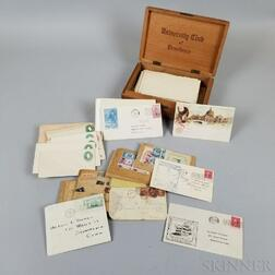 Group of Stamps and Envelopes