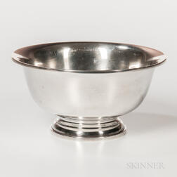 Peter Guille Ltd. Sterling Silver Footed Bowl