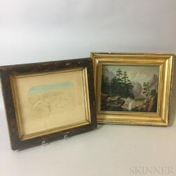 Two Framed Works
