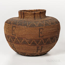 Polychrome California Basket