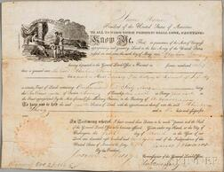 Monroe, James (1758-1831) Document Signed, Washington, D.C., 5 March 1821.