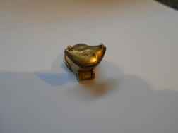 Tairona Gold Frog and Sixteen Buttons