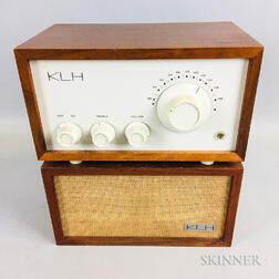 KLH Model Eight FM Radio with Bookshelf Speaker
