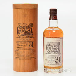 Craigellachie 31 Years Old, 1 70cl bottle (owc)