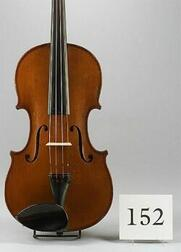 French Violin, J. B. Collin-Mezin, 1908