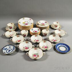 Forty-eight Pieces of Mostly Copeland Spode