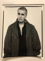Richard Avedon (American, 1923-2004)      Louise Nevelson, Sculptress, New York City