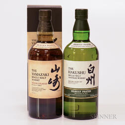 Mixed Peated Japanese, 2 750ml bottles (oc)