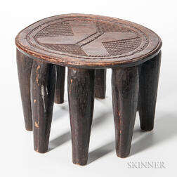 Nupe Wood Stool