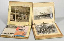 Coal Mining, Bureau of Mines, Two Illustrated Binders Assembled by Robert L. Anderson, Mid-20th Century.
