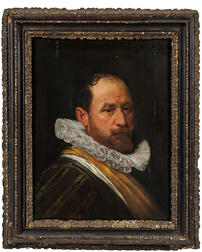 Manner of Michiel Janszoon van Mierevelt (Dutch, 1567-1641), Portrait of a Gentleman with a Ruff, Possibly from the House of Orange, Un