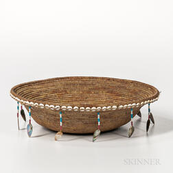 Pomo Basketry Bowl