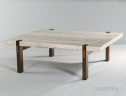 Modernist Stone Coffee Table