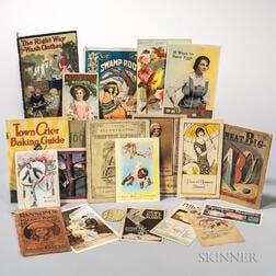 Advertising Ephemera, Approximately Twenty-three Items, Early 20th Century.