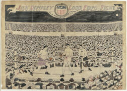 Daniel J. Farrell (American, Early 20th Century)      Jack Dempsey/Louis Firpo Fight