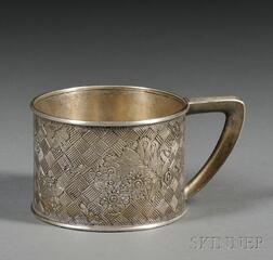Gorham Sterling Aesthetic Movement Mug