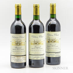 Chateau Clinet, 3 bottles